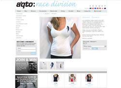 Example of a clients custom Look and feel for their shopping cart